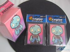 ZOMBIE HUGS FREE HUGS LEGION MAT DECK PROTECTOR CARD SLEEVES AND DECK BOX MTG