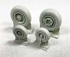 F-14D Tomcat Resin Super-Detail Wheel Set (1/48 True Details 48202)