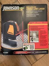 Johnson Level-40-6650 Self Leveling Cross Line Laser
