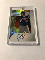 2015 PANINI PRIZM TIE DYE REFRACTOR ROOKIE AUTOGRAPH COREY SEAGER AUTO RC #/50