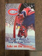 Montreal Canadiens 1999-2000 Season Ticket Brochure Locker Room Poster