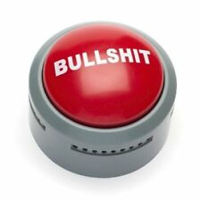 NEW - The Official Bullsh*t Button - FREE SHIPPING