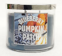 1 Bath & Body Works BLUEBERRY PUMPKIN PATCH 3-Wick Scented Wax Candle 14.5 oz
