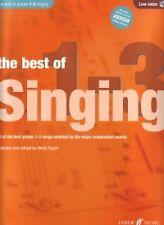 BEST OF SINGING Grades 1-3 Pegler Low + CD*
