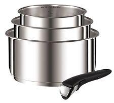 Tefal Ingenio Stainless Steel 4 Piece Pan Set