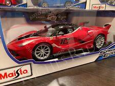 SALE - Maisto 1:18 Scale Special Edition Diecast Model Car - Ferrari FXX K (Red)