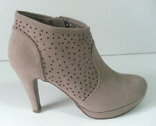 Normale-Weite-(F) Damenstiefel & -Stiefeletten aus Faux-Wildleder für Sehr hoher Absatz (Größer als 8 cm)
