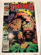 The Thing # 4 , canadian Price Newsstand Edition