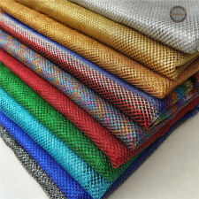 Sparkle Glitter Metallic Mesh Net Stretch Lurex Fabric Embroidered Craft Meter