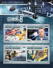 NASA GEMINI 8 VIII 1966 Spaceflight Space Stamp Sheet (2016 Guinea-Bissau)