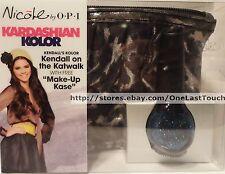 KENDALL* KARDASHIAN OPI Nicole KENDALL ON THE KATWALK Nail Polish+MAKEUP CASE 1a