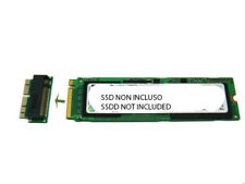 Zs- Adattatore da NGFF M.2 PCIe SSD (M Key) a 2013 2014 2015 2016 MacBook SSD