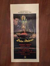 LOCANDINA,S13 DOLCE VELENO Pretty Poison 1968,Perkins Garland Noel Black