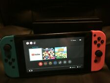 New listing Nintendo Switch Console with Red/Blue Joy‑Con + Dock (No power cable) Xkw