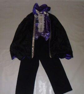 George Dracula Halloween Costume Age 5-6 Years