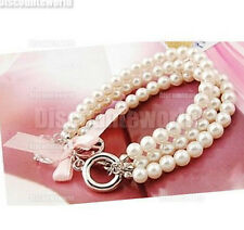 Bangle Crystal Fashion   Wristband  Bracelet Hot Cuff  Women  New Style Pearl