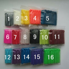 40 Packs Dental Rings Orthodontic ligature ties Elastic Rubber Bands Mixed color