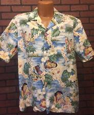 Vintage Mens Hawaii Brand Hawaiian Shirt Mens Size Large Made in Hawaii B6-7