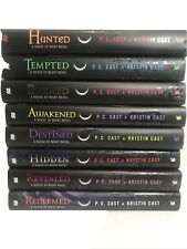 House of Night Novels Huge Lot! by PC Cast & Kristin Cast Books 5-12 (used)