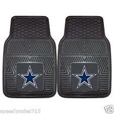 PAIR FANMATS NFL Dallas Cowboys Front Heavy Duty Car Mats New Free Shipping