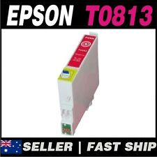 1x Magenta T0813 81N Compatible Ink for PRINTER Stylus Photo R290 R390 RX590 RX6