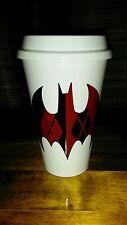 Batman Harley Quinn coffee travel cup - Harley Quinn coffee and Batman coffee