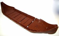 LEGO REDDISH BROWN BOAT LARGE VIKING SHIP HULL TOTAL 5 PIECE PIRATE CASTLE PARTS