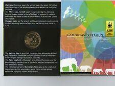 Malaysia WWF Coins Card (BU)