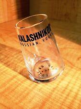 KALASHNIKOV NAVY SHOT GLASS ORIGINAL FOR VODKA SUBMARINE AK 47 EXTRA RARE NEW