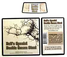 Kalamazoo Brewing Co BELL'S SPECIAL DOUBLE CREAM STOUT beer label MI 12 oz