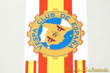 "Banner Beinschild ""Vespa Club de España"" - V50 PK Spain Spanien Aufkleber Dekor"