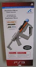 PS3 PLAYSTATION MOVE SHARP SHOOTER GUN ACCY PLAYSTATION 3 W BOX & STICKERS LOOK!