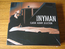 CD Box Set: Michael Nyman : Classic Album Selection : 5 CDs  Sealed