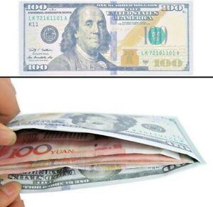 Portafoglio uomo porta carte di credito dollaro usa 100 dollari regalo natale