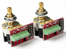CTS Pot, 500/250K Audio, Push-Pull, Switched, Split Shaft (2 Pack)