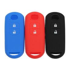 Silicone 2 Button Key Cover Smart Remote Case Fob For Mazda CX-5 CX-7 CX-9 6 MX5