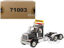 INTERNATIONAL HX520 DAY CAB TANDEM TRACTOR BLACK 1/50 BY DIECAST MASTERS 71003