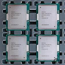 Set of 4 Intel Xeon Processor E7-8890 v3 ES CPU LGA 2011-1 2.4GHz 18 Core QFTG