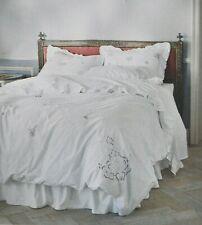 Rachel Ashwell Simply Shabby Chic White Rose Cutwork Lace Duvet Set Full/Queen