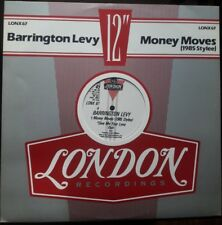 """Barrington Levy – Money Moves (1985 Stylee) 12"""" Excellent"""