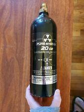 Pure Energy 20 Oz Refillable Aluminum Co2 Tank - Black