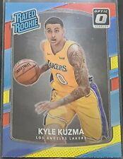 Kyle Kuzma 2017-18 Donruss Optic MEGABOX RED/YELLOW PRIZM Rookie Card (no.174)