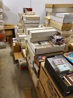 Huge lot collection of 3,000 Baseball Cards from the 80's -2000's