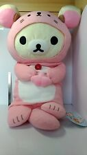 Ko Rilakkuma   Plush  Doll    Body  Pillow  Cushion   22in  San-X   Japan   NEW