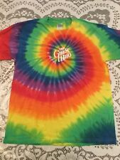 Large L T-Shirt The Guess Who Tie Dye 1960s Music Classic Rock Band