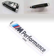 M Performance Emblem Schlüssel Aufkleber Aluminium Key Sticker M Logo for BMW