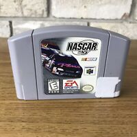 NASCAR 99 Nintendo 64 Game Authentic N64 Cartridge Only Racing Sports Tested Vtg