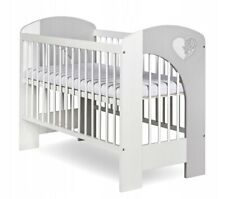 NEW WOODEN BABY COT, 2 DESIGNS TO CHOOSE!! VERY HIGH QUALITY, HEART OR CLOUD
