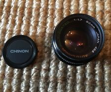 Auto Chinon 50mm 1.7 lens for Pentax K SLR