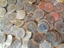 100 Coins LOT UNC / BUNC 5 Rupees Commemorative Mixed Brass Coin 18 Varieties
